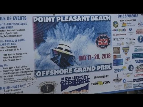 Offshore powerboat Grand Prix returns to Point Pleasant Beach