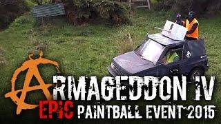 Armageddon EPIC Paintball Event New Zealand 2015