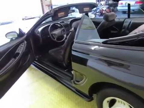 1994 Ford Mustang Manual 5-Speed Convertible CARFAX 1-OWNER 303-997-4126