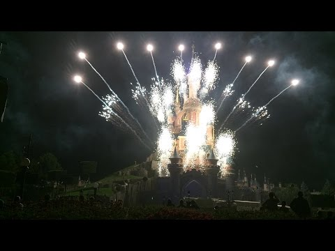 14 july 2014: Disneyland Paris Fireworks 'Bastille Day' - Le quatorze juillet plus dreams! FULL