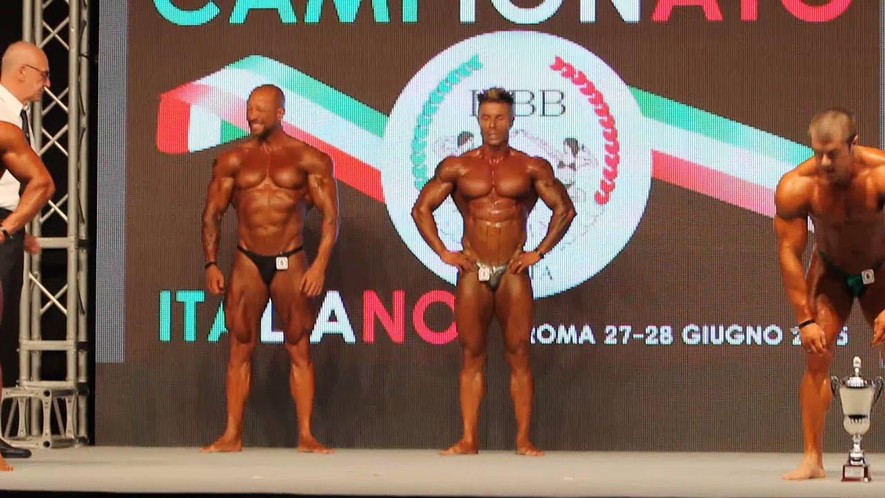 2015 campionato italiano ifbb: luca silvestrini VS andrea muzi