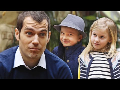 Henry Cavill Asks Kids: Batman or Superman? // Omaze