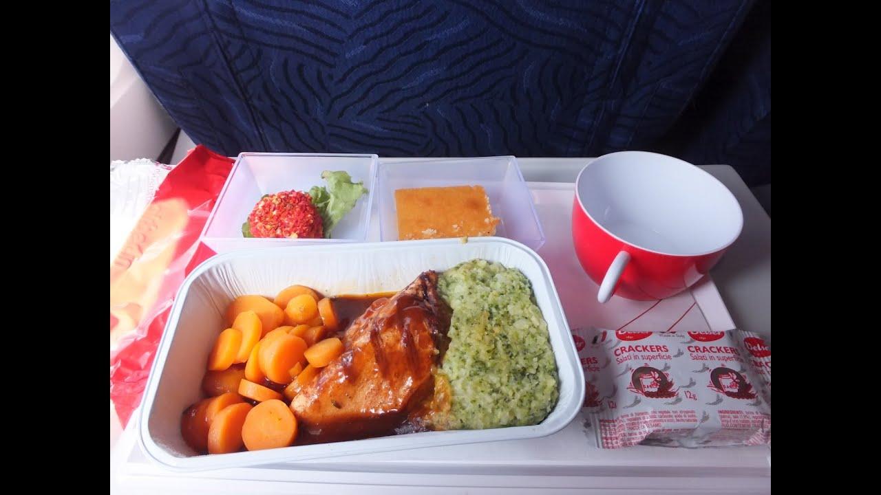 Kuwait Airways Food Menu