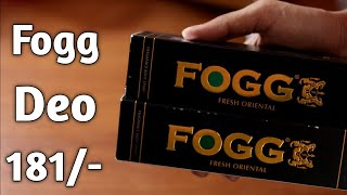 Fogg Fresh Oriental Black Series For Men 150ml ¦ Fogg Deo Unboxing Amazon ¦ Fogg Best Deo ¦ Deo Men