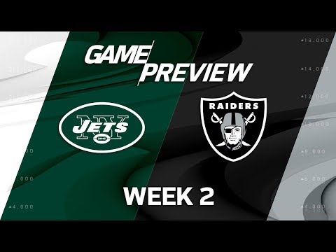 New York Jets vs. Oakland Raiders | Week 2 Game Preview | NFL Total Access