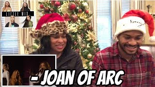 Mom reacts to Little Mix Live - Joan Of Arc (Live From London) Video