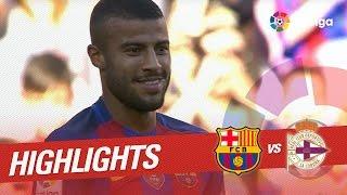 Resumen de FC Barcelona vs Deportivo de la Coruña (4-0)