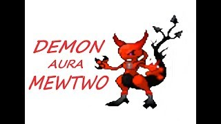 Roblox Project Pokemon - Demon Aura Mewtwo