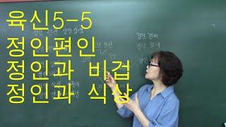 사주명리학 [육신기초5-5 정인편인 정인비겁 정인식상 ] 서울사주이모