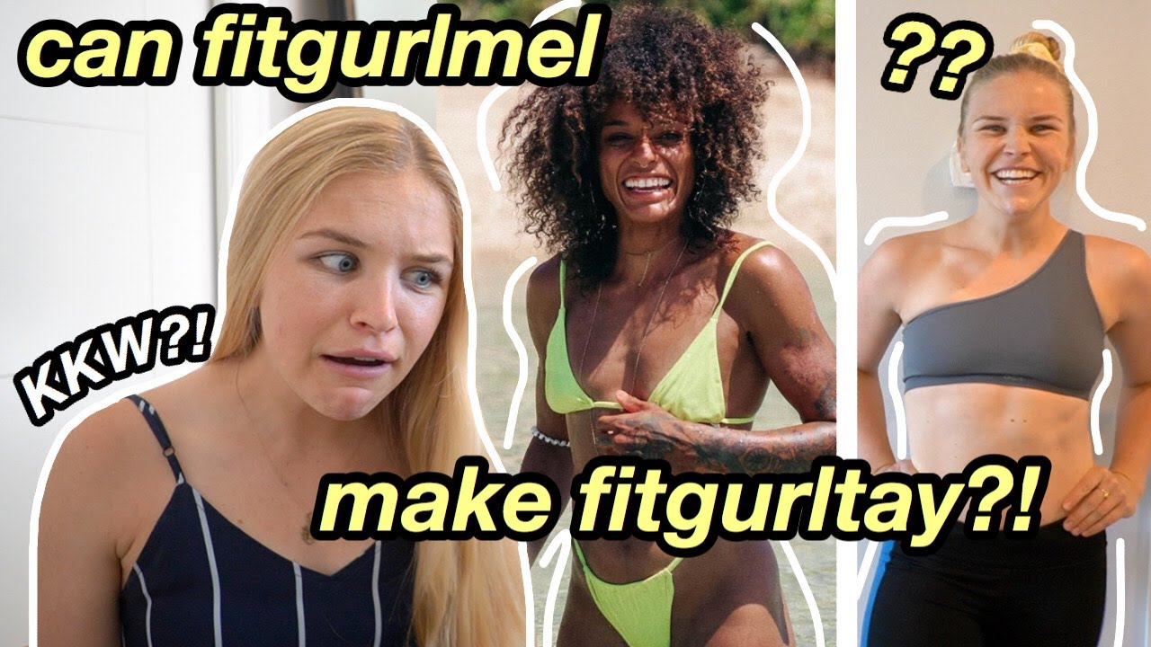 TRYING fitgurlmel's BUILT AT HOME HIIT PROGRAM | trying to become KKW + before & after results