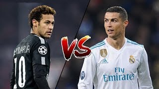 NEYMAR JR vs CRISTIANO RONALDO | LA BATALLA | PSG vs Real Madrid | Skills & Goals - 2018