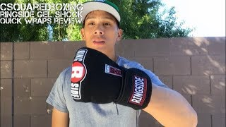 Ringside Boxing Gel Shock Quick Wraps Review