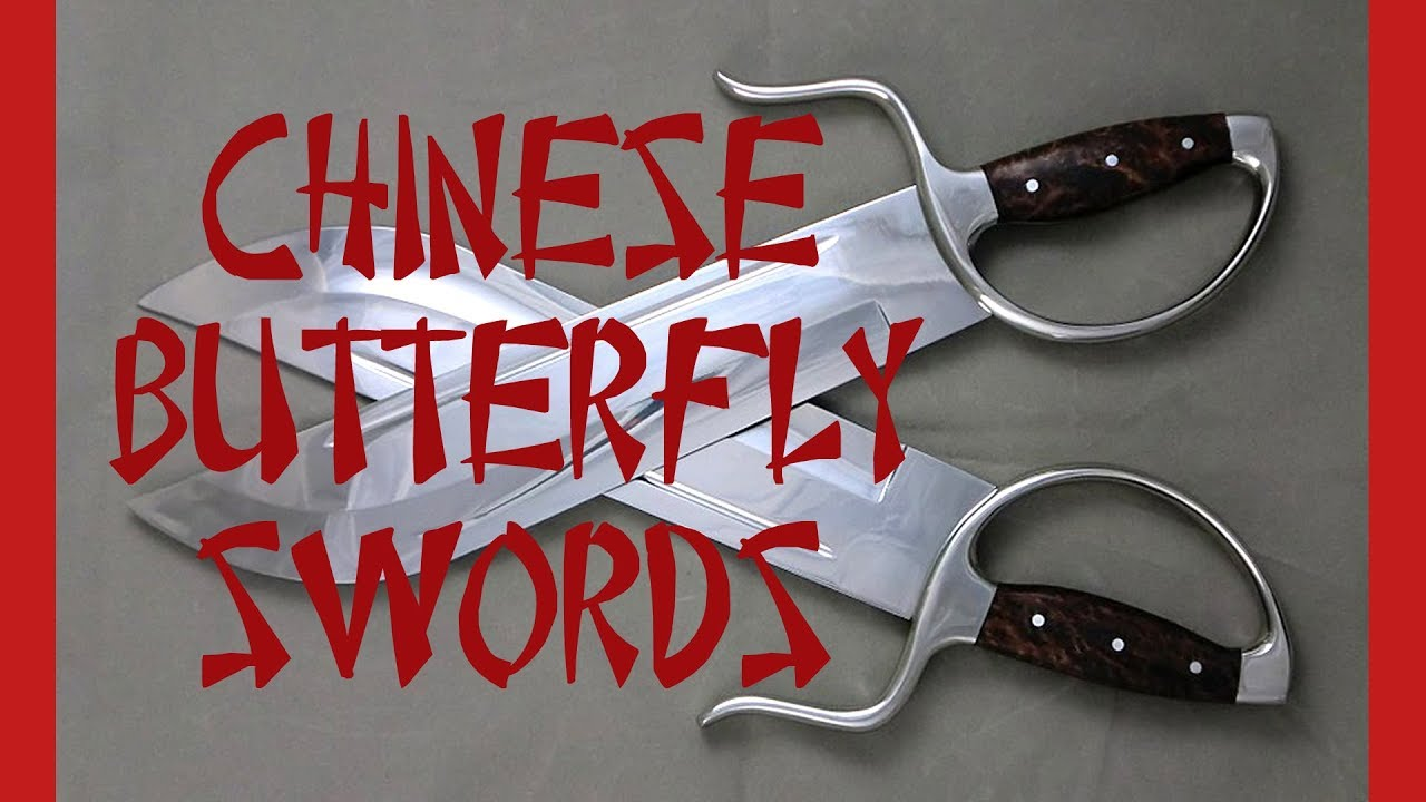 Chinese butterfly swords