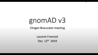 gnomAD Version 3