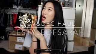 Nov&Dec Haul-Asos,H&M,Adidas,Urban Outfitters,American Apparel Thumbnail