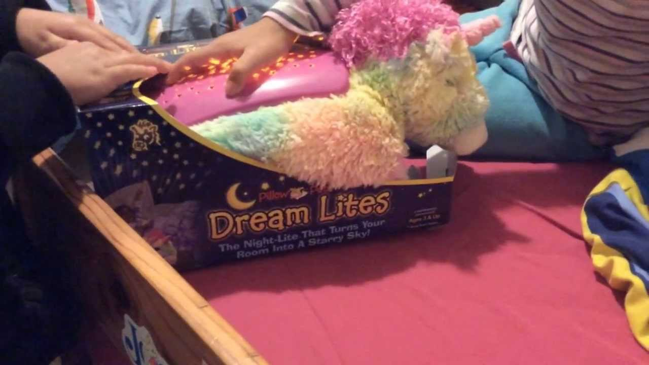 Pillow Pets Dream Lites Review And Hands On Test In A Dark