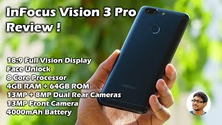 InFocus Vision 3 Pro Unboxing, Review, Performance & Camera Test!