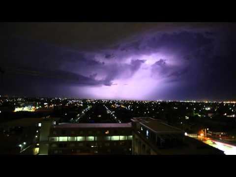Lightning over Eastern Suburbs Sydney