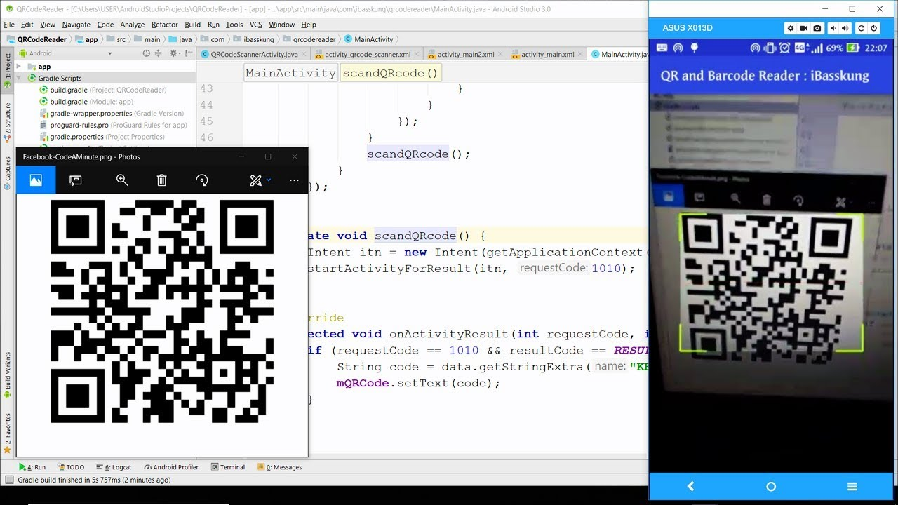 Android Qr Code Scanner Test
