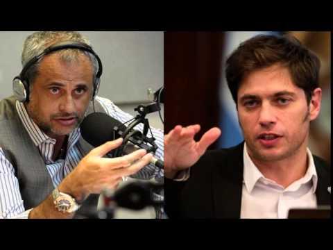 """Entrevista a Axel Kicillof por Jorge Rial en """"Ciudad Goti K"""""""