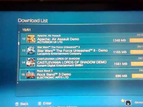 How to transfer your DLC to your new ps3