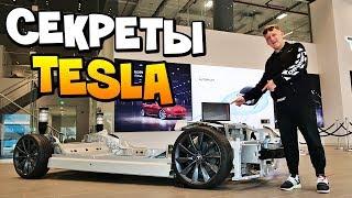 Тесла в РАЗБОРЕ и СКРЫТЫЙ разнос АВТОСАЛОНА Tesla в Дубае! Илон Маск