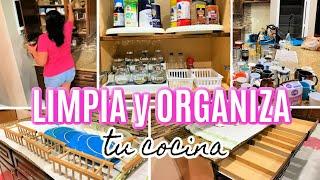 LIMPIA y ORGANIZA tu COCINA, Ideas para organizar tu cocina, limpieza 2021.