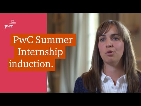 PwC's Summer Internship highlights