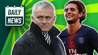 Manchester United feuert Mourinho! Rabiot wird PSG verlassen! Harte Strafe für Hertha BSC!