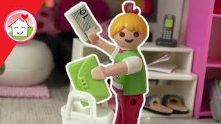 Playmobil Film - Lena geht alleine einkaufen - Geschichte für Kinder von Familie Hauser - deutsch