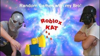 Random Games with my Bro! - Roblox KAT
