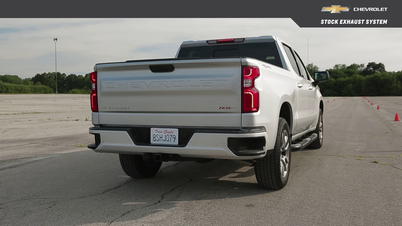 chevrolet performance 2019 all new silverado 5 3l cat back single exit exhaust upgrade system