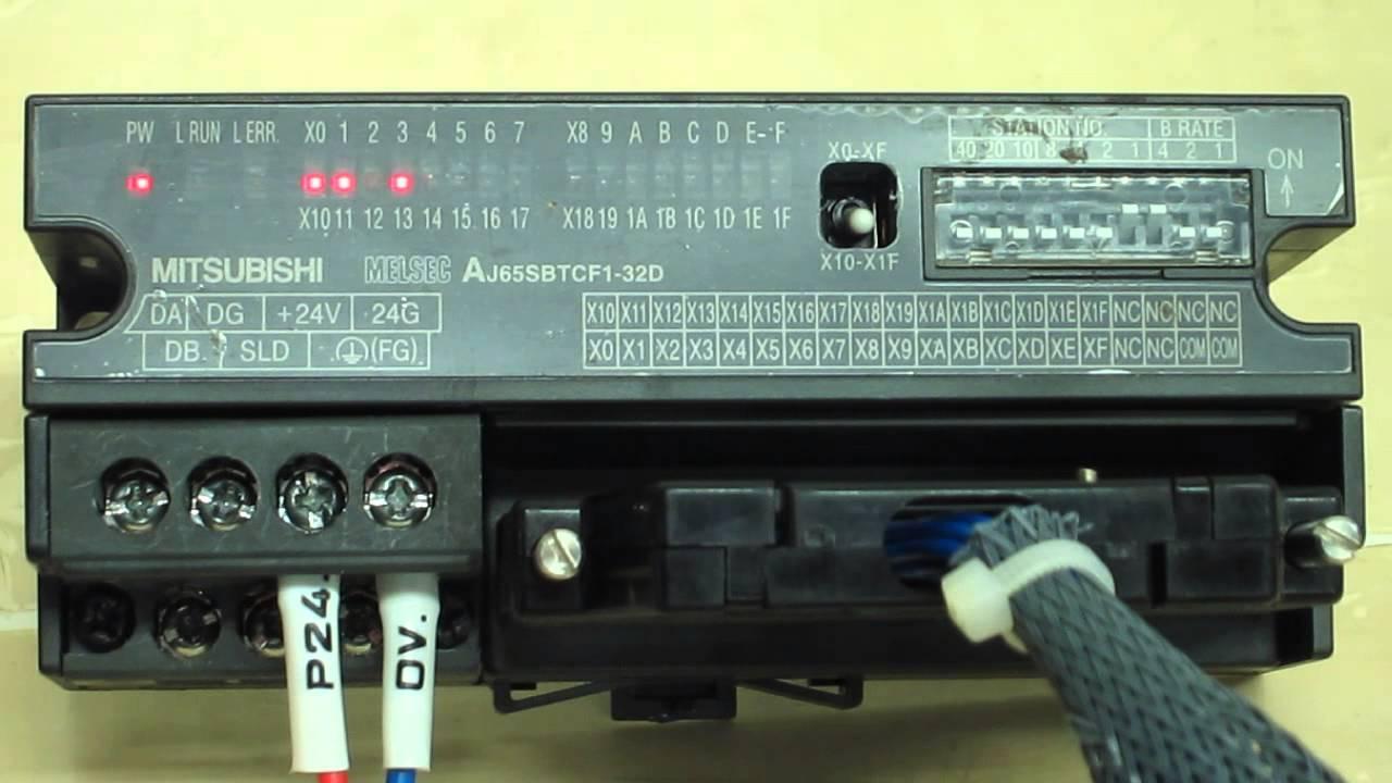 Mitsubishi Electric AJ65SBTCF1-32D CC-Link system small ...
