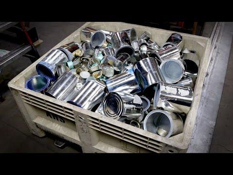 METALS SHREDDING: Tin Containers (D)