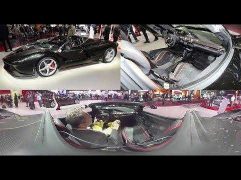 VR 360 Ferrari LaFerrari Aperta : découvrez l\'intérieur à 360 ...
