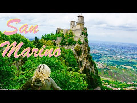 The Republic of San Marino & Rimini, Italy.