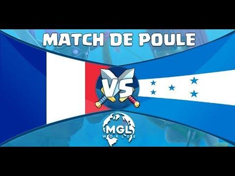 FRANCE vs HONDURAS MGL WORLDS feat AXAEL LA REMONTADA