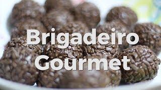 O Famoso Brigadeiro Gourmet com Forminha Caixeta e Topper Personalizado - Belas Cores