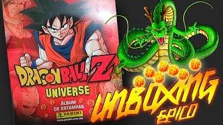 Dragon Ball Z UNIVERSE Album + 50 Estampas UNBOXING