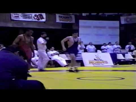 2000 Senior National Championships: 85 kg Andrew Garrett vs. Unknown