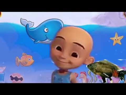 Upin ipin iwak gatul,iwak lele, iwak pitik, iwak tempe Baby Shark versi Jawa