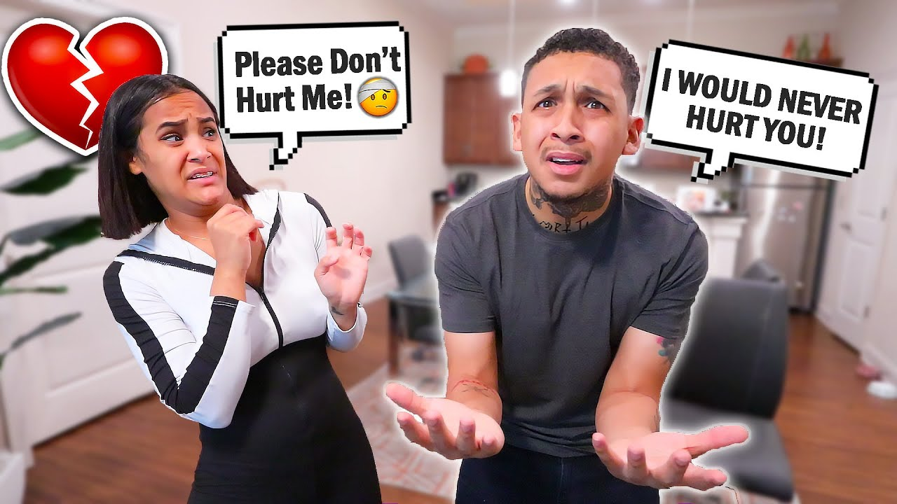 Acting Scared Of My Husband Prank ! *hilarious*