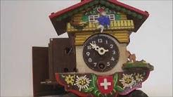 petit coucou suisse animé et musical chalet