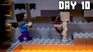 LEGO Minecraft Survival Day 10 (Stop Motion Animation)
