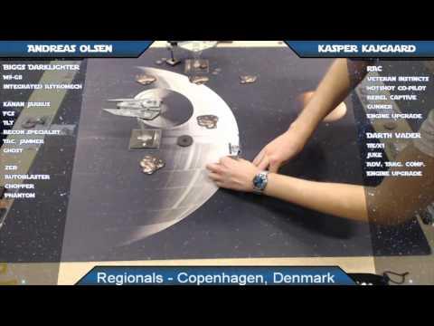 X-Wing Battle Report 66 - Copenhagen Regionals, Round 4