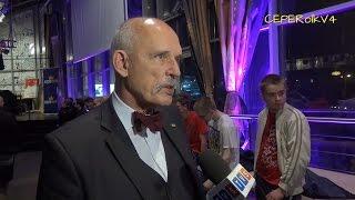 Wywiad TVS z Januszem Korwin-Mikke (09.11.2015 Katowice)