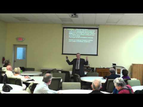 20151129 - Senior Adults Class - Daniel