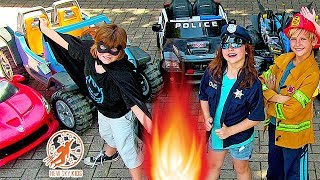 Little Heroes Super Episode - The Toy Car Stealer, The Princess and The Fire Engine