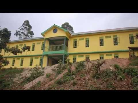 Progression of new Child Africa School in Uganda