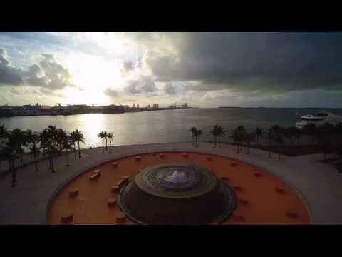 Bayfront Park Miami Downtown 4k